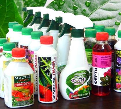 Средства по уходу за растениями