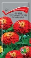Цинния георгиноцветковая Супер Йога Ред